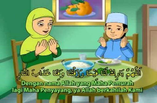 Bacaan Doa Sebelum Makan dan Minum Bahasa Arab Dan Terjemahan Indonesia Sesuai Sunnah Nabi