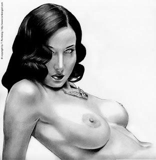 ilustracion erotica de thomas rumberg