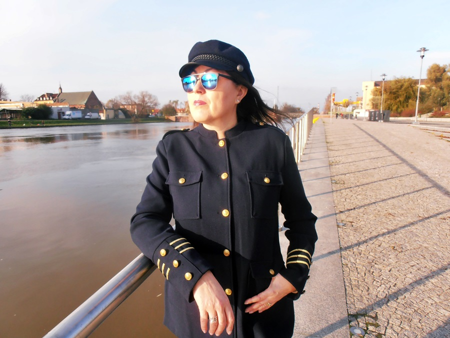 5bbb35c10c310 Forties Style : Marynarka militarna/ the military jacket