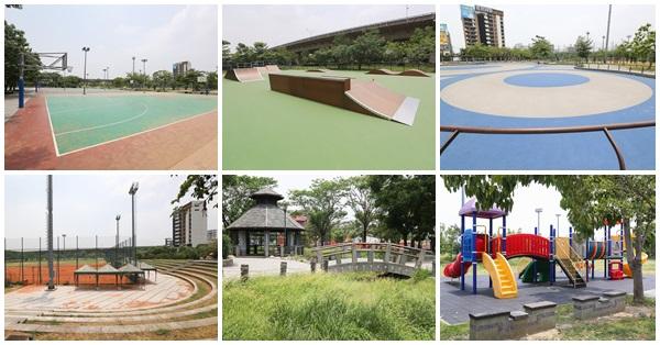 《台中.太平》祥順運動公園|籃球場|棒球場|滑板場|溜冰場|陽光草坪|免費停車場