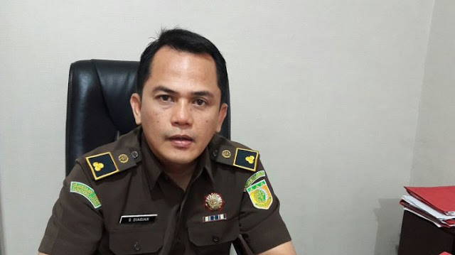Kepala Seksi Penerangan Hukum Kejati Sumut, Sumanggar Siagian