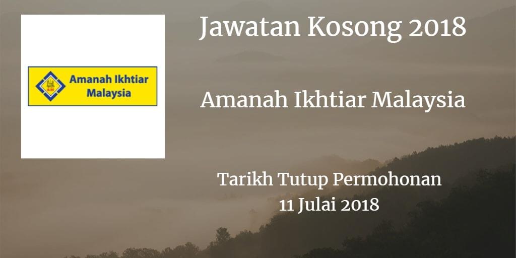 Jawatan Kosong AIM 11 Julai 2018