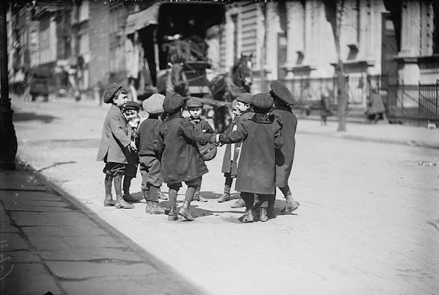 Crianças em Nova Iorque