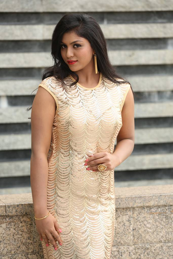 Aaradhya At Media Interaction On Her Telugu Movie Debut Pics