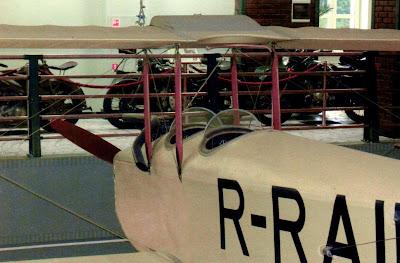 Центральная часть фюзеляжа самолета АИР 1