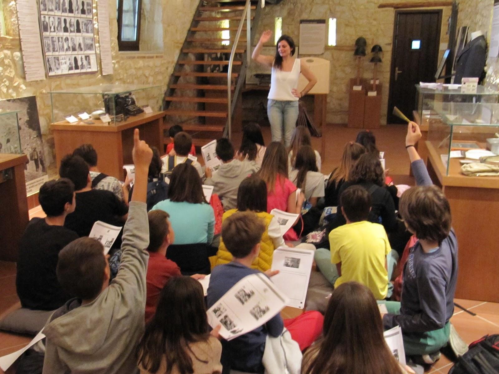 Το 12ο Δημοτικό Σχολείο Λάρισας στο Μουσείο Εθνικής Αντίστασης Λάρισας