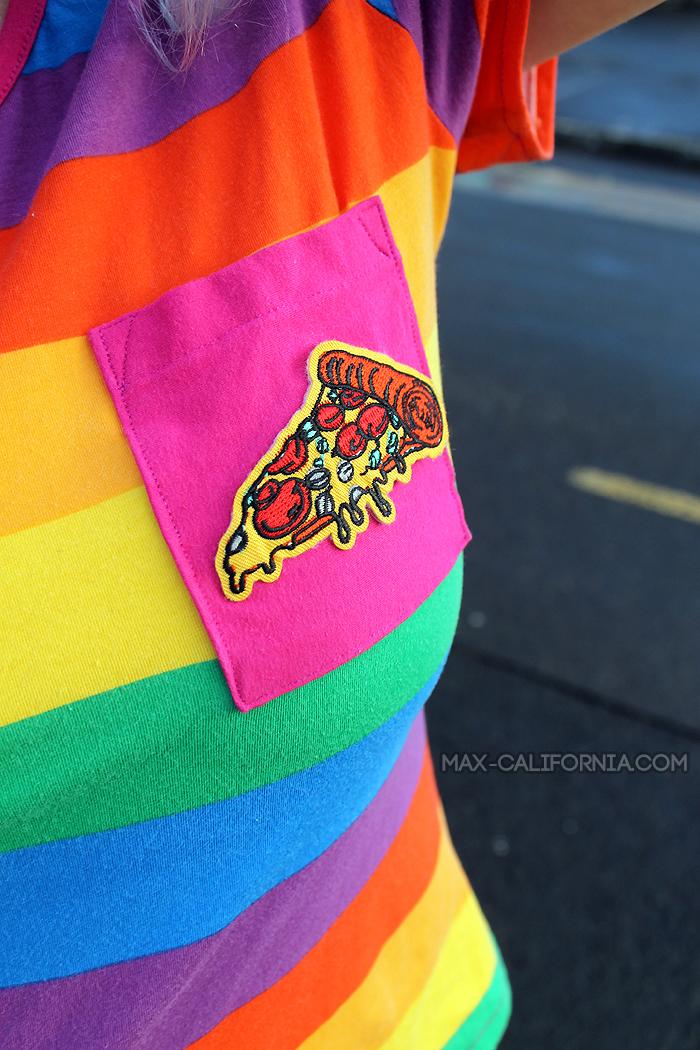 Sunny Top + Pizza Pocket by Max California