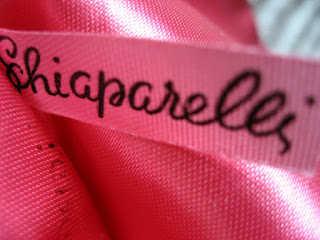 Schiaparelli's trademark colour, Shocking Pink