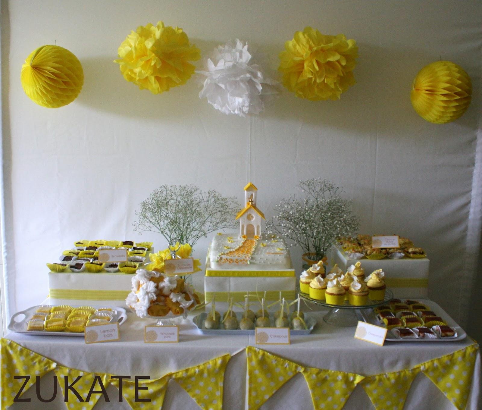 Fiesta de primera comuni n para cande zukate for Fiestas comunion decoracion