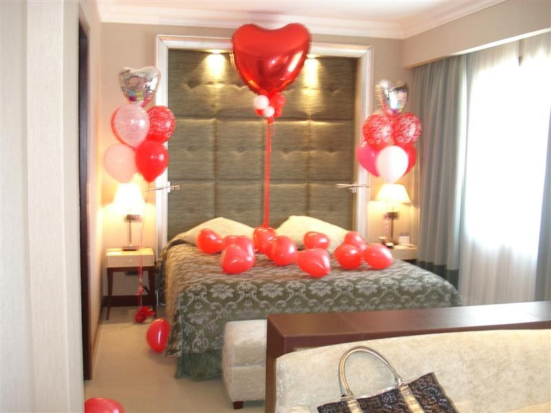Mantas decoradas y regalos personalizados wish for Cuartos decorados romanticos con globos