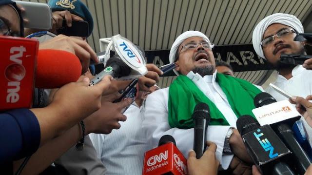 Habib Rizieq: Tanggal 2 Desember Adalah Unjuk Rasa Yang Dilindungi Undang-Undang Nomor 9 Tahun 1998