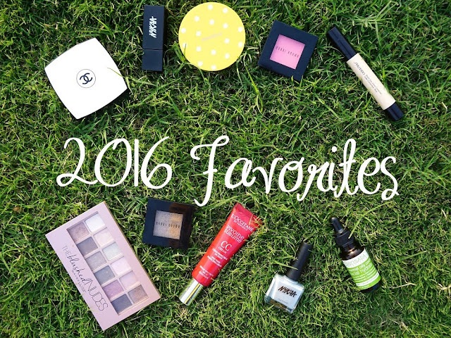 Skincare, Beauty, Haircare, and Makeup Favorites of 2016