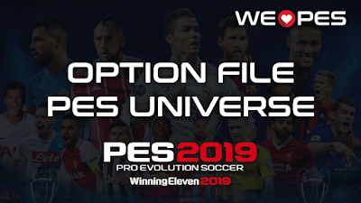 Option File | PES Universe v1.0 | PES 2019 | PS4