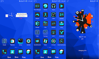 Download Download the White Queen Theme for Emui 5