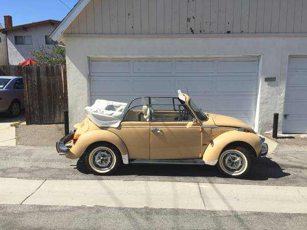 1979 Karman Edition Super Beetle Convertible