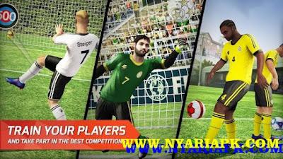 Download Final kick: Online Football Apk v4.4 + Data Mod Unlimited Money