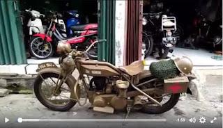 BAKOEL MOTOR ANTIK : Dijual BSA M21 - TANGERANG