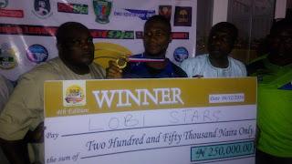 Lobi Stars Emerge 2016 Gold Cup Champions