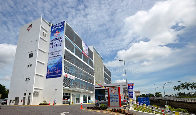 Borneo Medical Centre in Kuching, Sarawak