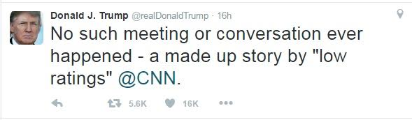 Donald Trump Slams CNN For Reporting That The Secret Service Questioned Him