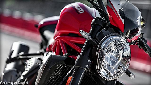Gambar Motor Ducati Monster 1200 R Terbaru 2016