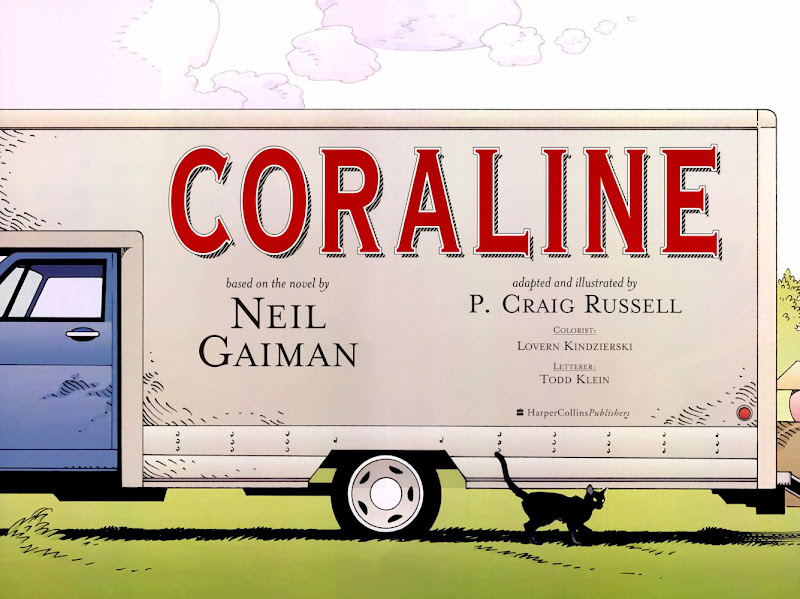 Read page Intro ii, from Nail Gaiman and P. Craig Russell's Coraline graphic novel
