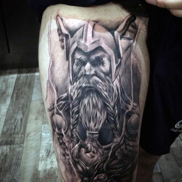 tatuaje de Odin
