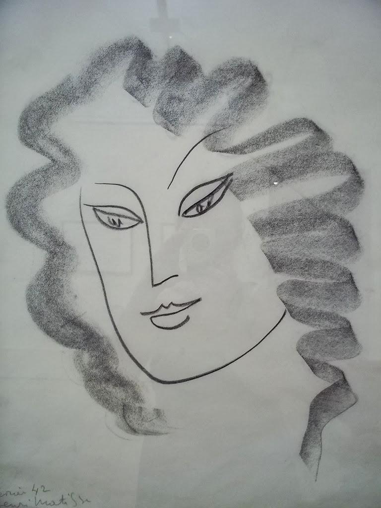 Gesture Matisse Drawing 1