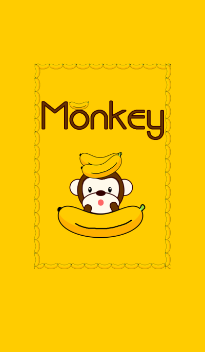 New Monkey with bananas