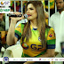 T10 League Photos: Zareen Khan looks Hot in Tight Shirt at Dubai Cricket Stadium