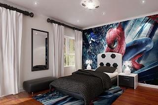 cuarto de hombre araña