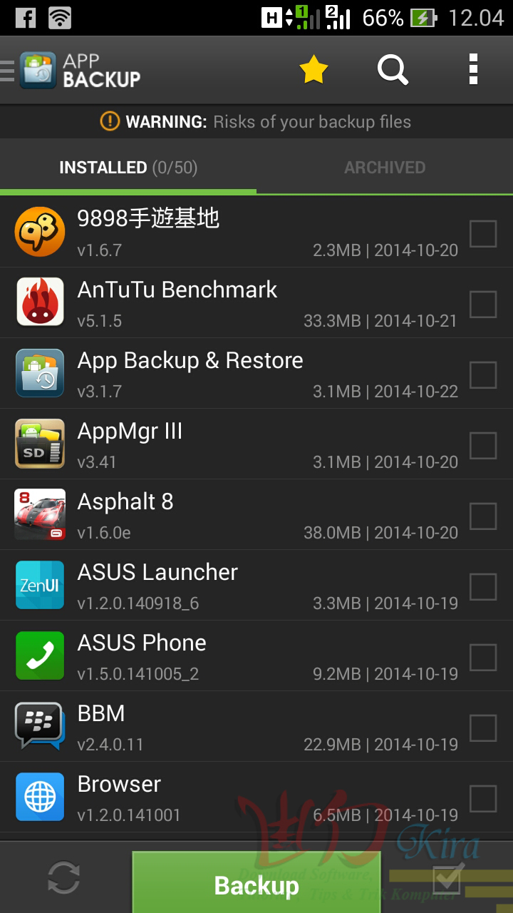 Wd-kira, Cara Mudah Backup Aplikasi Android Terbaru 2014, cara merubah aplikasi android menjadi file APK, cara mendapatkan file APK dari playstore, Cara membuat pencadangan aplikasi android terbaru 2014, cara ampuh meyelamatkan data android terbaru
