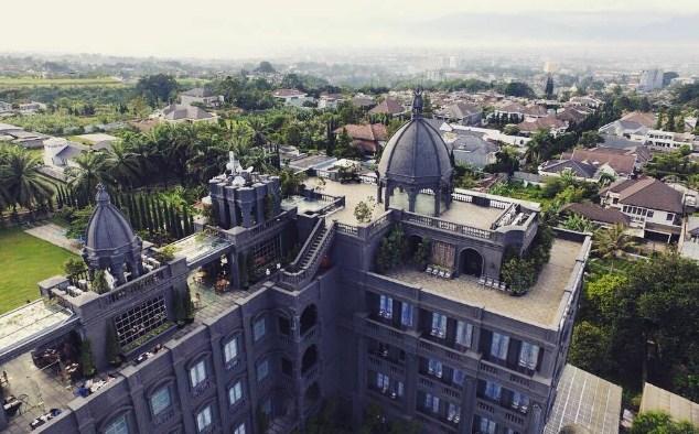 Kastil Eropa berada di Bandung, Lho