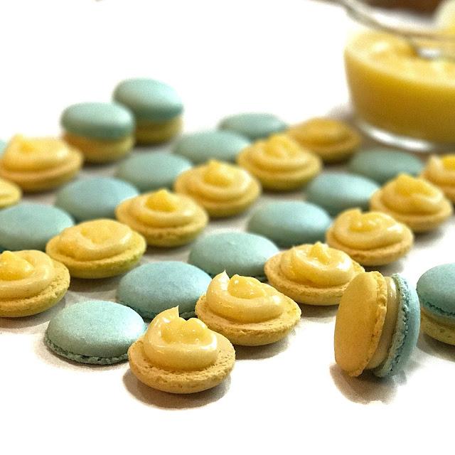 Tangy Lemon Macarons
