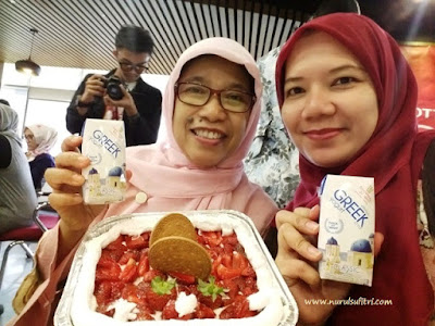 no bake strawberry cheese cake sudah jadi heavenly blush greek yogurt nurul sufitri ilotte online mall