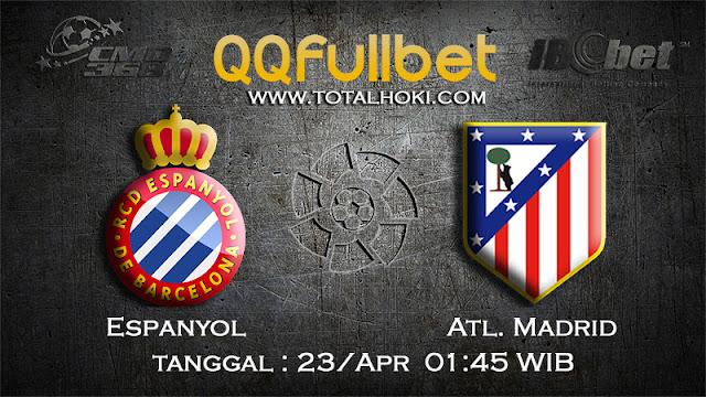 PREDIKSIBOLA - PREDIKSI TARUHAN ESPANYOL VS ATL.MADRID 23 APRIL 2017 (LA LIGA SPANYOL)
