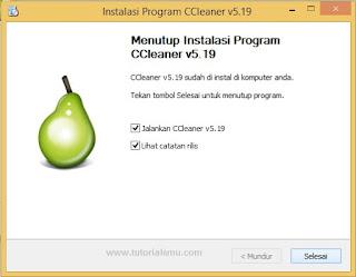 Cara instal Software CCleaner