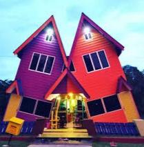 Gambar rumah unik keren