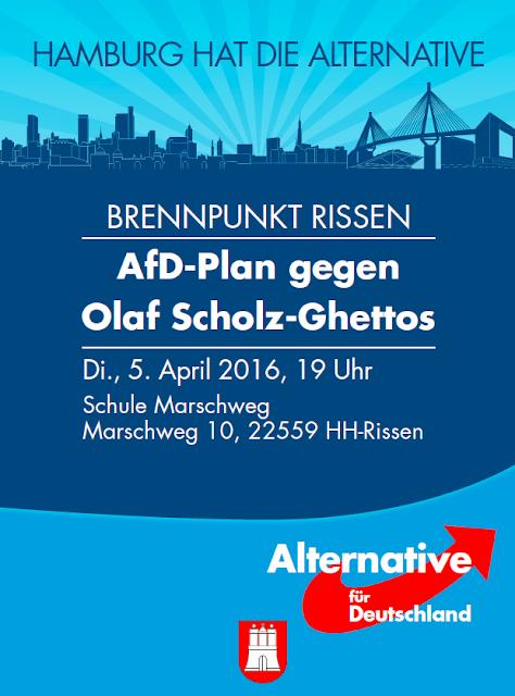 AfD-Plan gegen Olaf-Scholz-Ghettos