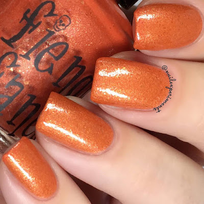 Fiendish Fancies Quid Pro Quo, Clarice swatch May 2018 polish pickup 1990's