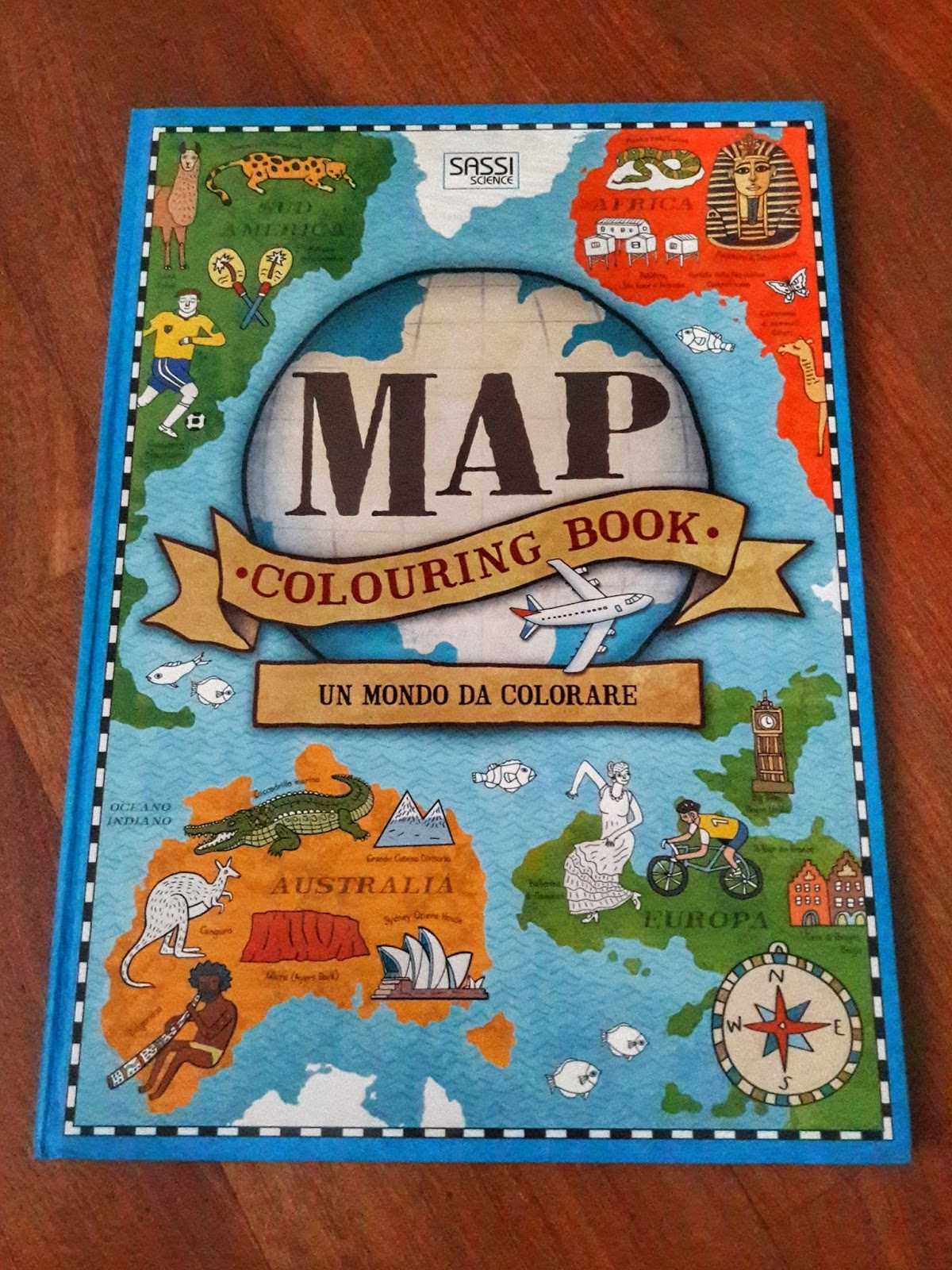 """Dipingere Sassi Per Natale map"""" un mondo da colorare, edito da sassi science - famiglia"""
