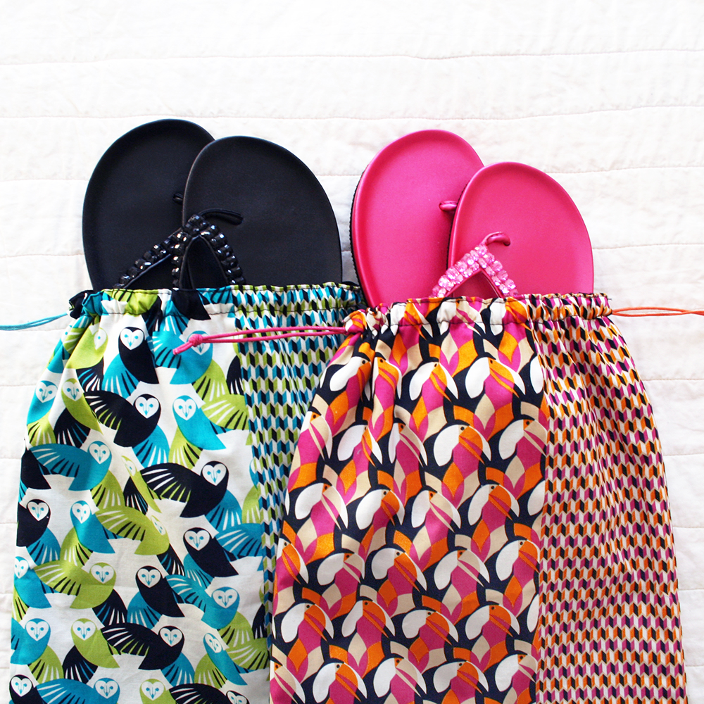 Destination Mixteca Shoe Bag Tutorial