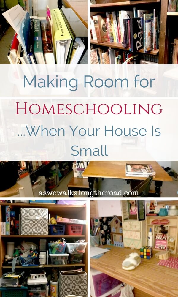 Homeschooling in small spaces