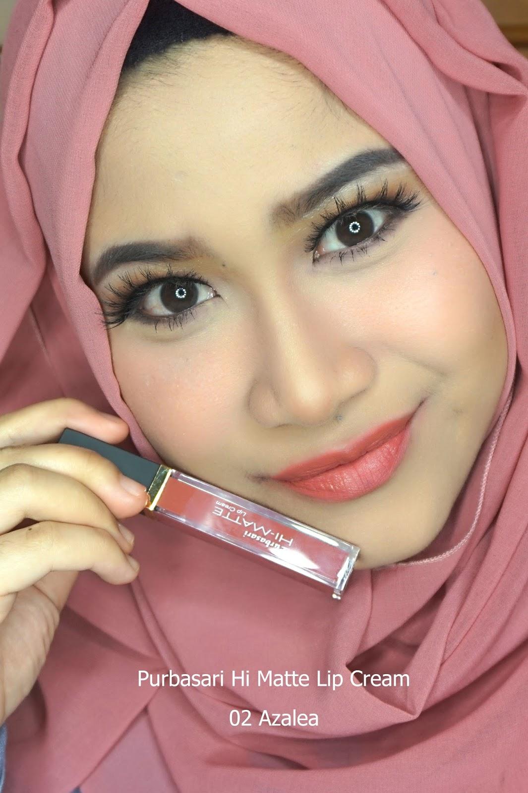 Hai Ariani Indonesian Beauty Blogger Purbasari Hi Matte Lip Cream Lipstik Paling  Original