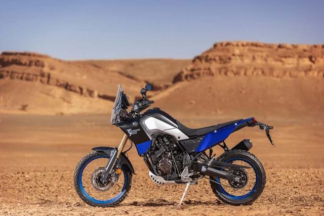 200 mm de recorrido de la suspensión en la Yamaha Tenere 700
