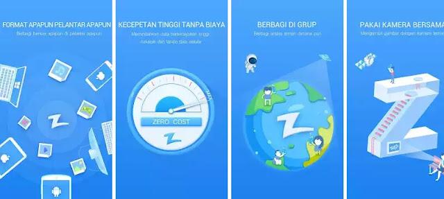 Zapya - Aplikasi Sharing File Terbaik