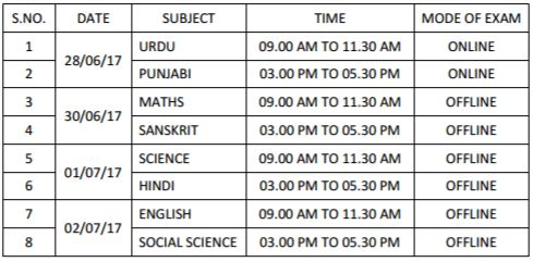 image : RPSC Sr. Teacher Grade II Exam Schedule 2016-2017 (June & July) @ TeachMatters
