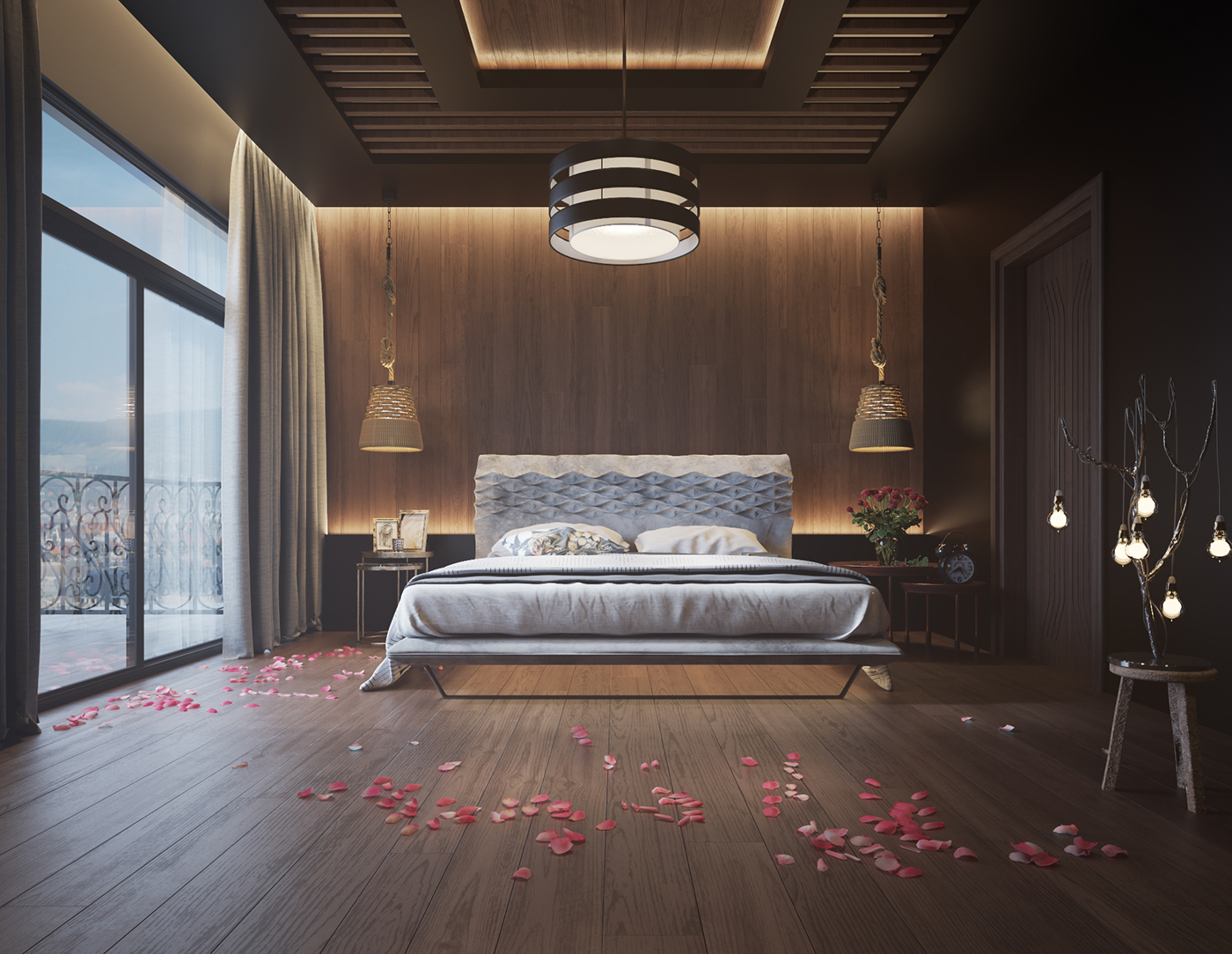 Wood Walls In The Bedroom wood walls in the bedroom Design Inspiration – Wood Walls In The Bedroom 52d80c36352253