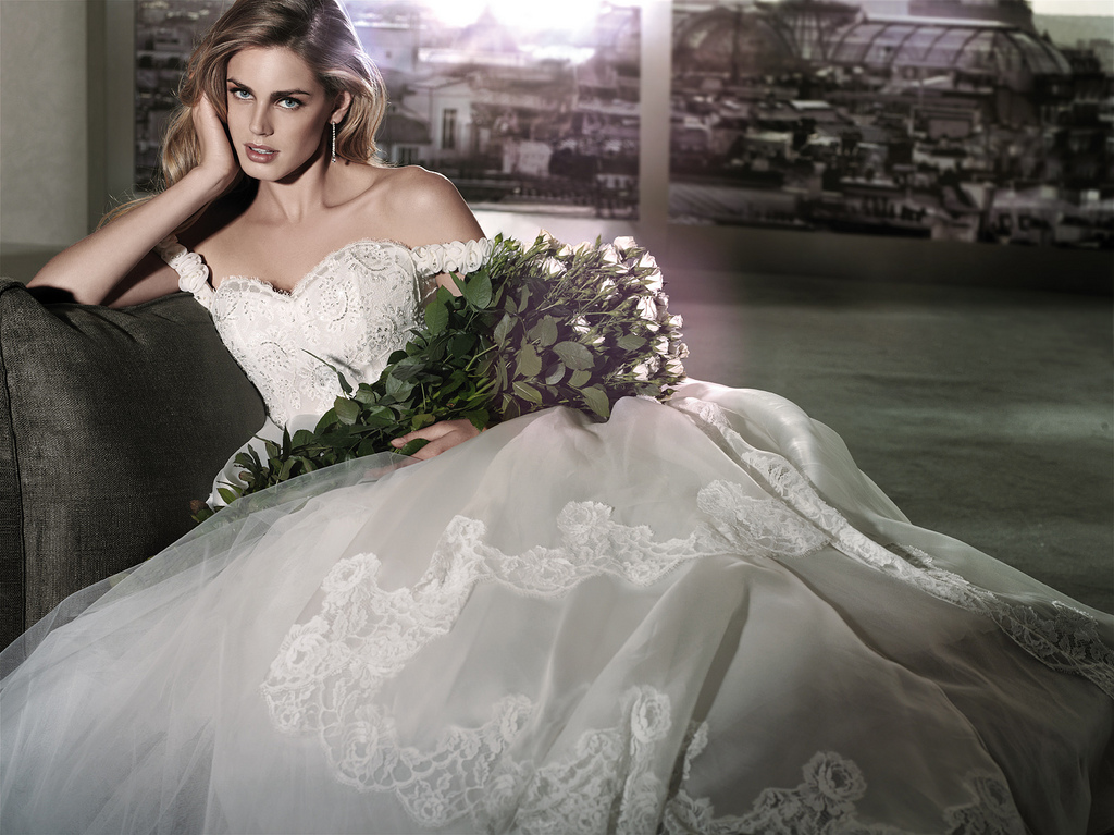 Couture Wedding Gowns: Passion For Luxury : Alessandro Angelozzi Couture