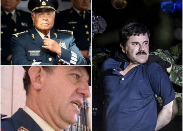"""El reloj que """"El Chapo"""" quiso regalar a extitular de Sedena"""